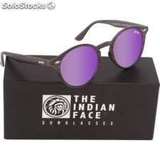 Gafas de sol urban spirit - black wooden - the indian face - 8433856065800 -