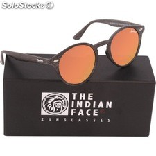 Gafas de sol urban spirit - black wooden - the indian face - 8433856065817 -