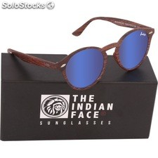 Gafas de sol urban spirit - brown wooden - the indian face - 8433856065879 -