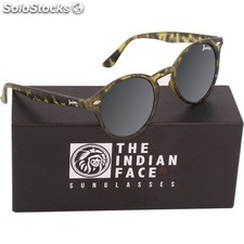 Gafas de sol urban spirit - green tortoise - the indian face - 8433856065848 -