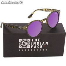 Gafas de sol urban spirit - green tortoise - the indian face - 8433856065855 -