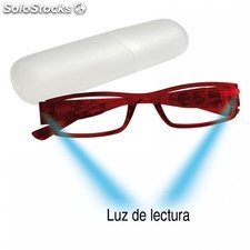 gafas lectura c/ luz umay lect. nocturna
