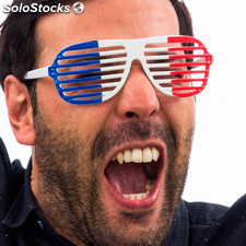 Gafas Persiana Bandera de Francia Th3 Party