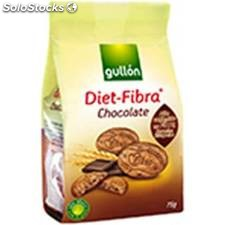 Galletas gullón diet fibra chocolate - bolsa 75gr