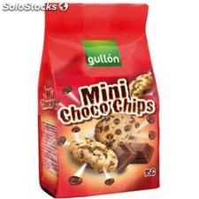 Galletas gullón mini choco-chips chocolate bolsa 85 gr - gullon - 8410376039191