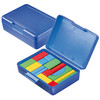 Game Box Building Blocks Coloured, Trend-Blue