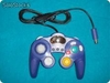 game cube handle ( azul) Compatible con Wii y ncg