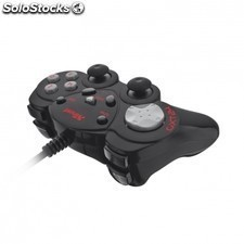 Gamepad TRUST gxt 24 - 2 joystick analogicos- panel digital 8 direcciones - 12