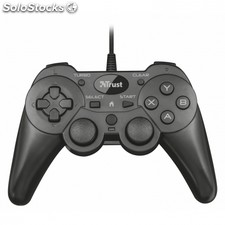 Gamepad trust ziva wired - 2 joystick analogicos- panel digital 8 direcciones -