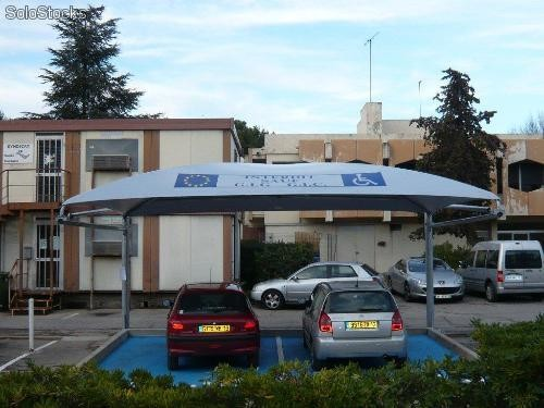 Garage carport abri de voiture auvent protection velo moto - Garage carport voiture ...