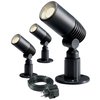 Garden Lights Foco LED Alder 3 pzas 2 W antracita 2580063