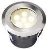 Garden Lights Luz LED de plataforma Sirius acero inoxidable 4039601