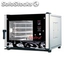 Gas convection and steam combination oven with touch screen controls - cod.