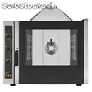 Gas convection oven - direct moistening - cod. ekf511gud - capacity n. 5