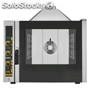 Gas convection oven - direct moistening - electronic control panel - cod.