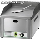 Gas countertop griddle - mod. fry1/lmc - smooth chrome plate - power 4 kw -