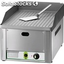Gas countertop griddle - mod. fry1/rmc - grooved chrome plate - power 4 kw -