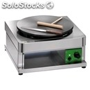 Gas crepe machine - mod cr400g1 - cooking zone 400 mm - supply: l.p.g /methane -