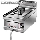 Gas fryer - countertop model - mod. sfm 10m - tank capacity lt 10 - power kw 6,9