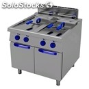 Gas fryer with neutral element-1100 series for alignment to-mod. g1104-# 2 tanks