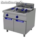 Gas fryer with neutral element-1100 series for alignment to-mod. g1122-# 2 tanks