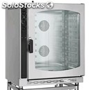 Gas gastronomy and pastry convection oven - mod. emg102 - electromechanical