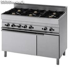 GAS range + electric oven Classica 650
