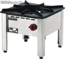 Gas wok china table range 1x 15 kw