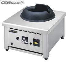 Gas wok china table range 1x 28 kw
