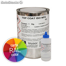 Gel Coat iso neo Color ral Parafinado 1 kg