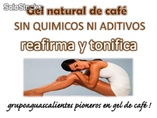 Gel de cafe organico