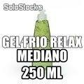 Gel Frío Relax (Pain Gel) 250 ml con 50% de Aloe Vera