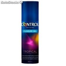 Gel lubricante control sabor tropical 50ML