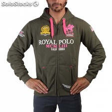 Geographical Norway RP Fanclub fluo man kaki pink - L