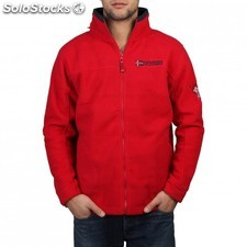 Geographical Norway Texas man red navy - L