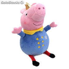 George king 30CM - peppa pig ready for fun - play by play - peppa pig -