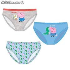 George Peppa Pig 3er Pack Slips