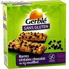 Gerble barres choco s/glut.132