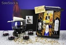 geschenkset wein und cd die feuerzangenbowle. Black Bedroom Furniture Sets. Home Design Ideas