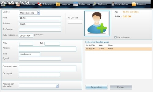 Gestion cabinet dentaire - Application gestion cabinet dentaire ...