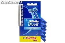 Gillette Maquinilla BlueII Plus 5+1 Gillette