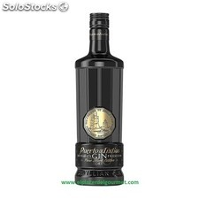 Gin puerto de india black 70CL.