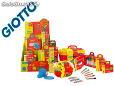 Giotto bebe -expositor sobremesa multiproducto + set regalo stick color