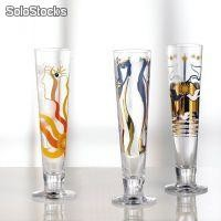 Glas - ARTWORK PEACE Designer-Pokal