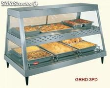 Glo-ray heated display cases GRHD-2PD