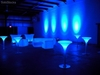 Glowing led bar table/ Modern bar table sets