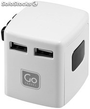 Go Travel Adaptador Usb Universal
