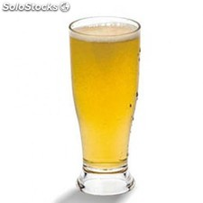 """Gobelet 340 ml """"thick base beer"""" transparent polycarbonate"""