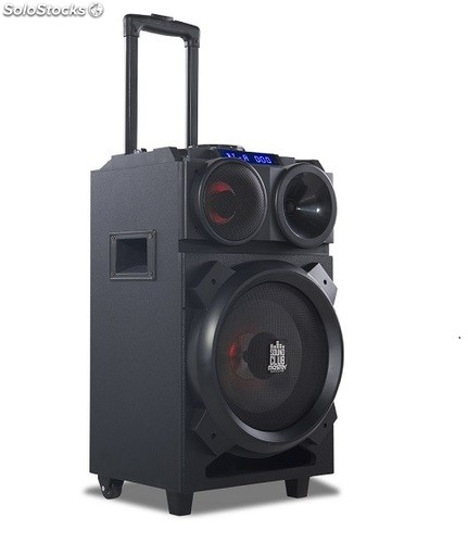 goclever sound club master mobile lautsprecher 100w mit akku. Black Bedroom Furniture Sets. Home Design Ideas
