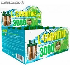 Gold Nutrition L-Carnitina 3000 mg 1 viales x 10 ml